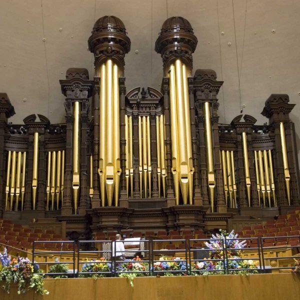 Etats-unis - Salt Lake City - Les grandes orgues du Tabernacle