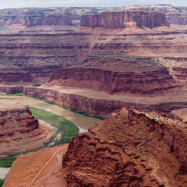 Etats-unis - Parcs de l'Utah - Une boucle du Colorado à Canyonland National Park