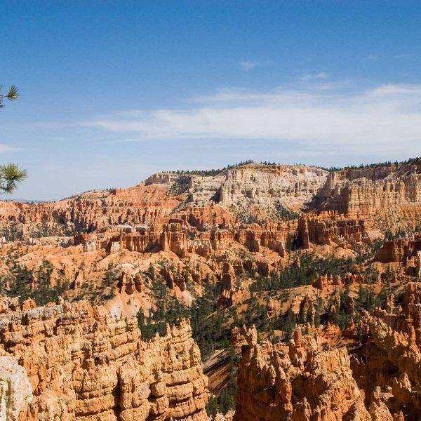 Etats-unis - Parcs de l'Utah - L'amphithéâtre de Bryce Canyon