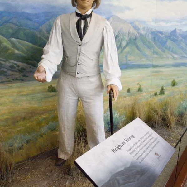 Etats-unis - Salt Lake City - Le prophète Brigham Young himself