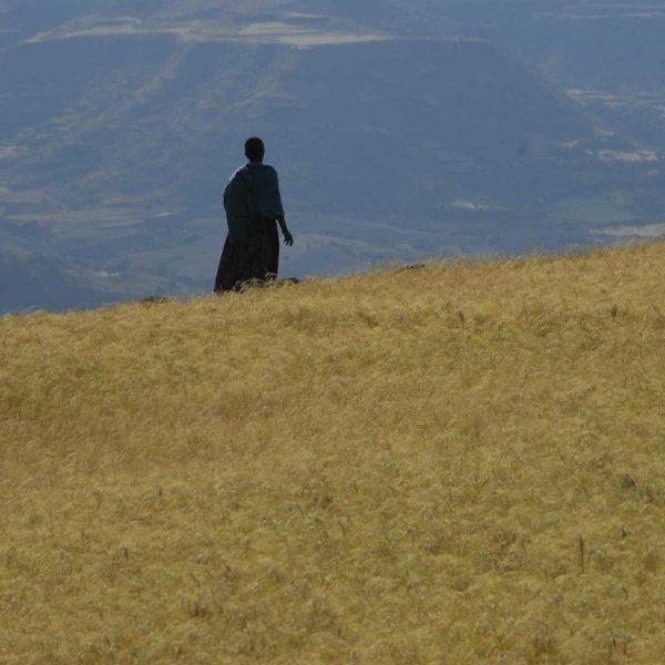 Ethiopie - Lalibela - Vue sur la vallée