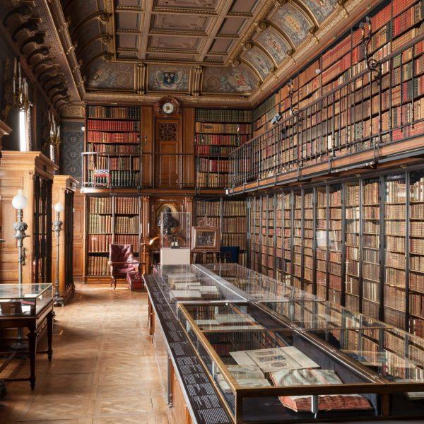 France - Château de Chantilly - Le Cabinet des livres