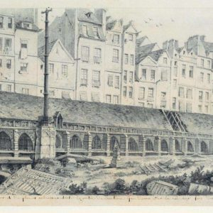 France - Paris - Catacombes - Le cimetière des Innocents (1786). par Charles Louis Bernier