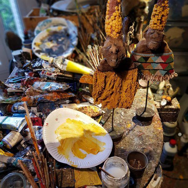 Gérard Cambon - Sculpteur - L'atelier de Bourg-la-Reine