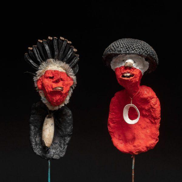 Gérard Cambon - Sculpture - Nambias, 1