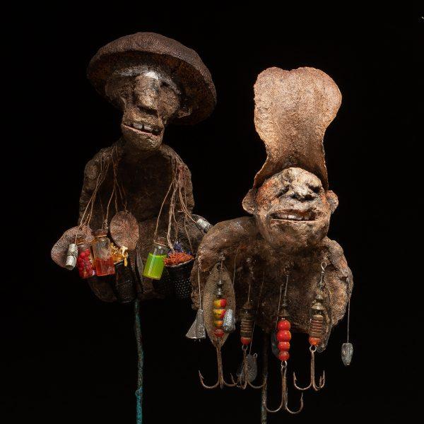 Gérard Cambon - Sculpture - Nambias, 2