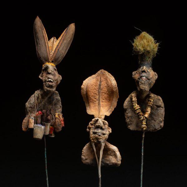 Gérard Cambon - Sculpture - Nambias, 3