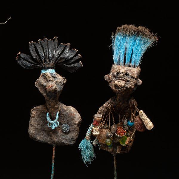 Gérard Cambon - Sculpture - Nambias, 4