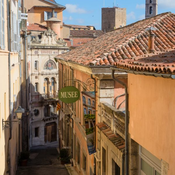 La vieille ville et ses ruelles.