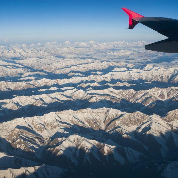 Survol de l'Himalaya, le toit du monde...