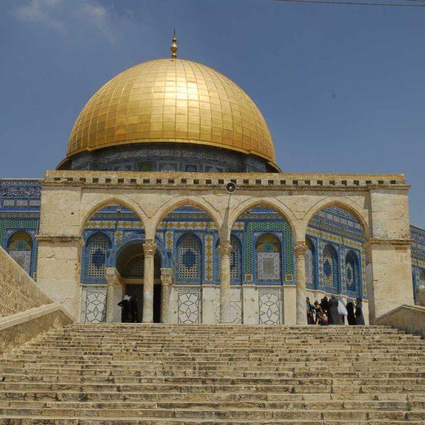 Israel - Le Dome du Rocher, Jérusalem.