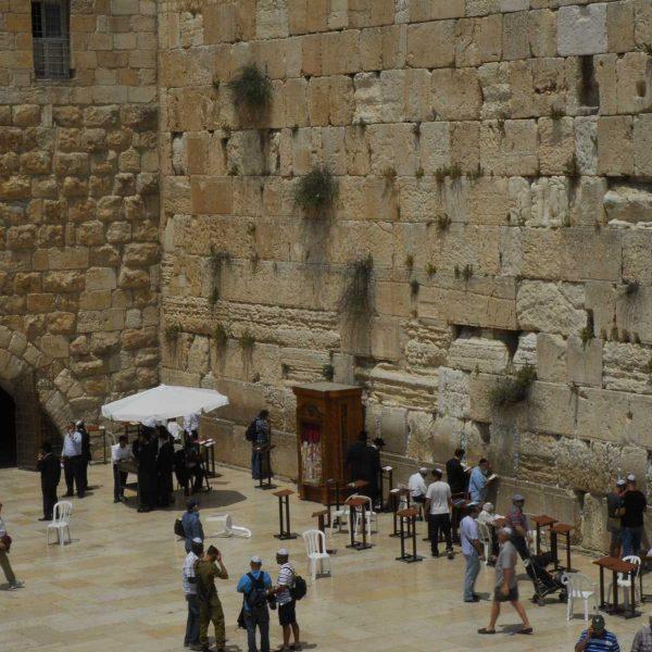 Israel - Le Mur des Lamentations, Jérusalem.