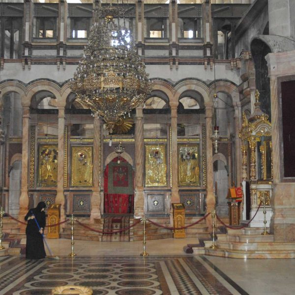 Israel - Le Saint-Sépulcre, Jérusalem.