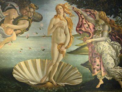 Italie - Renaissance - Naissance de Venus Botticelli