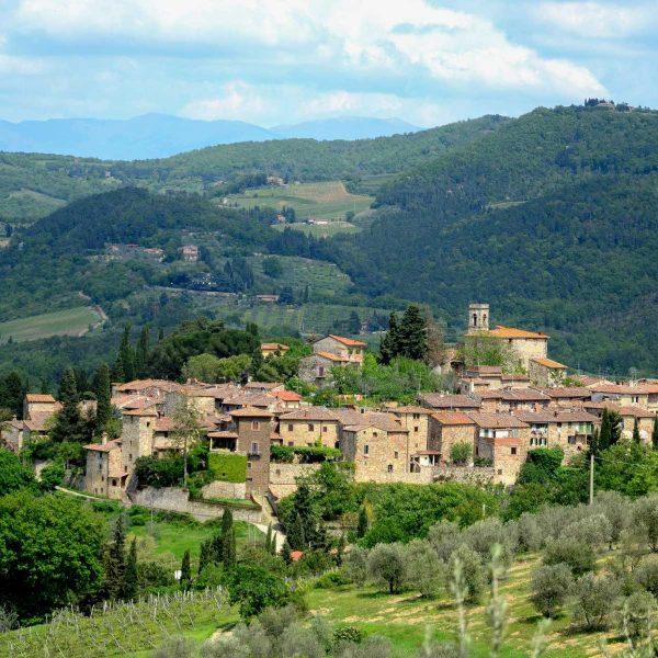 Italie - Toscane - Le village d'Impruneta, aux portes de Florence