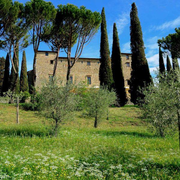Italie - Une villa toscane traditionnelle du Chianti