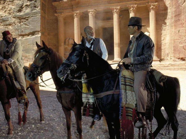 Jordanie - Petra - Image du film Indian Jones et la Dernière Croisade avec Harisson Ford et Sean Connery