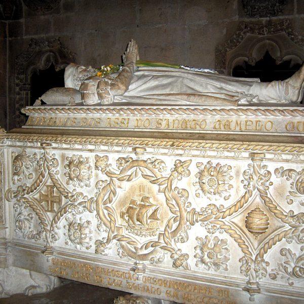 Lisbonne - La tombe de Vasco de Gama, Monastère des Hyéronymites