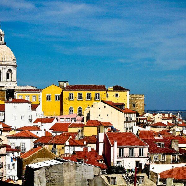 Lisbonne - L'Alfama est le plus vieux quartier de Lisbonne.