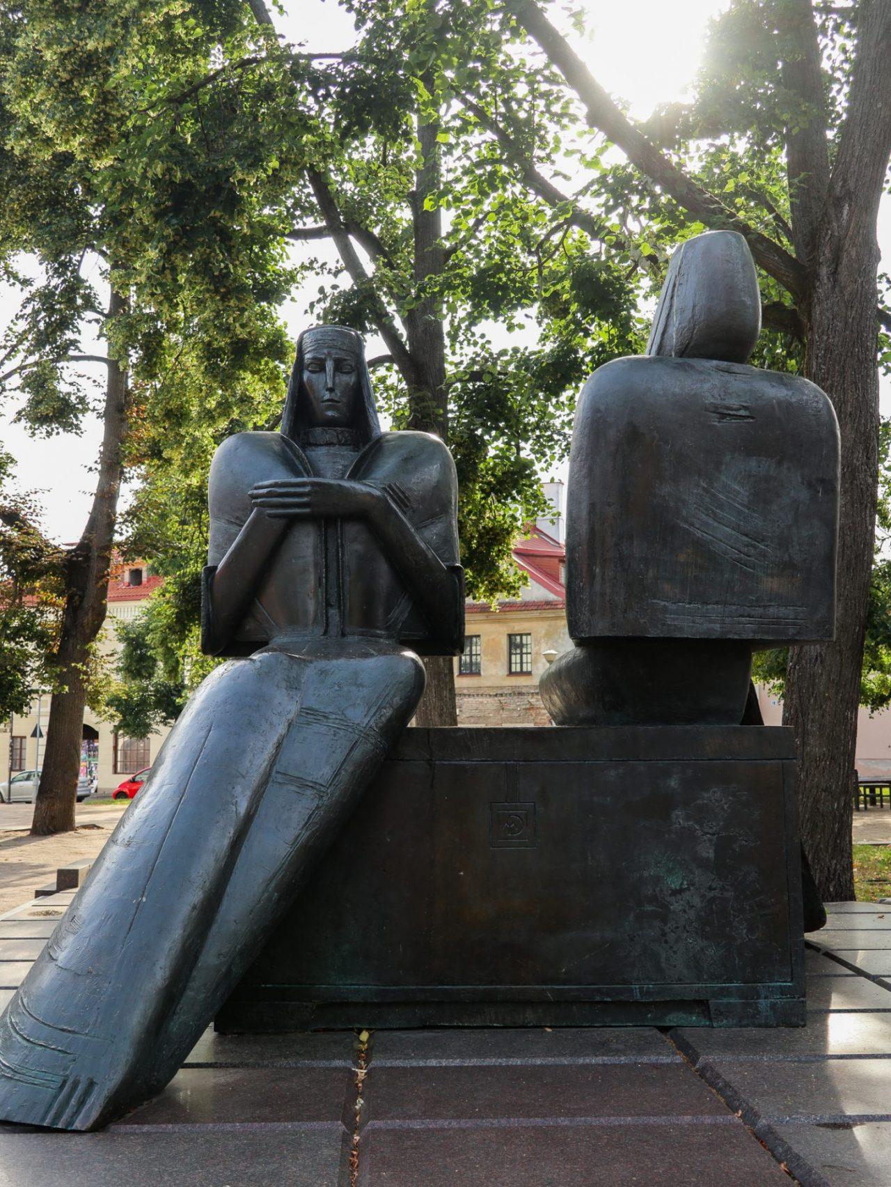 lituanie-vilnius-parc-statues