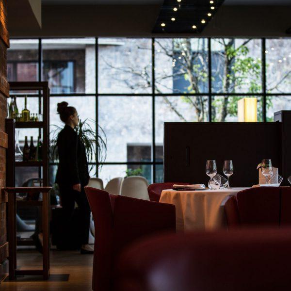 La verrière du restaurant