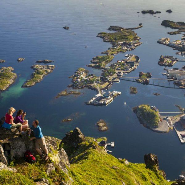 Norvege - Iles Lofoten - Port Svolvaer