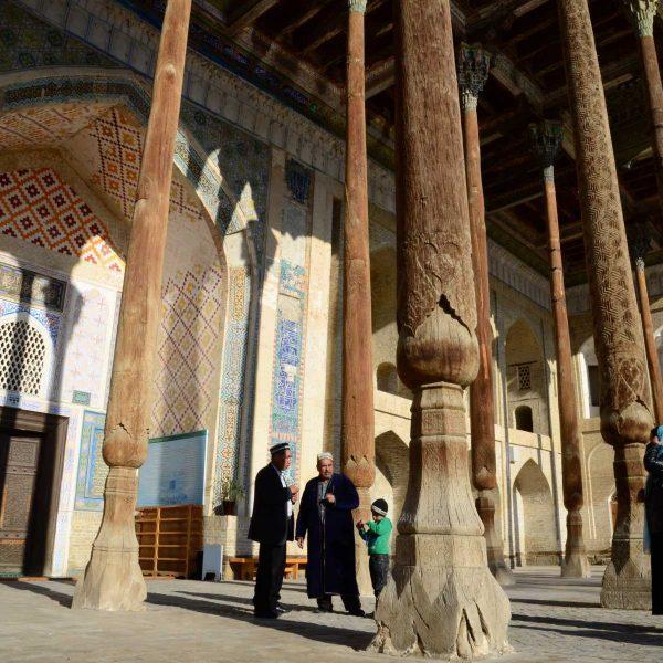 Ouzbekistan - La mosquée de Bolo Haouz (XVIIIe siècle) à Boukhara