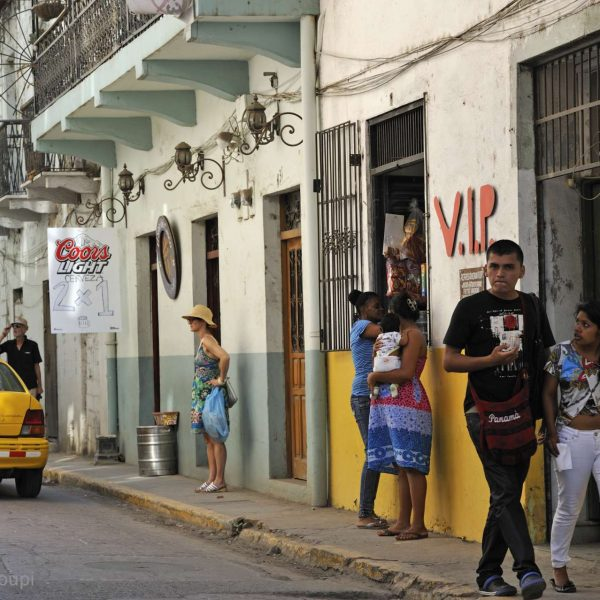 Panama - Casco Antiguo, le quartier historique de Panama City.