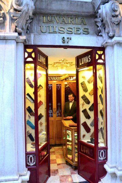Portugal - Lisbonne - Des gants à ma main chez Luvaria Ulisses