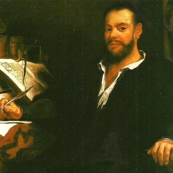 Le portrait de François Rabelais imaginé par Eugène Delacroix.
