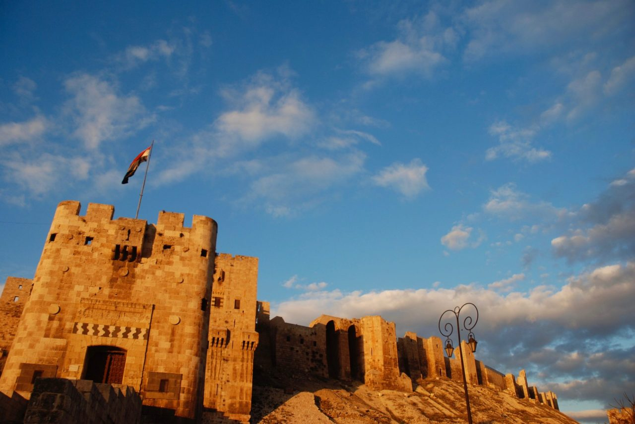 Syrie-Alep-Citadelle-remparts-