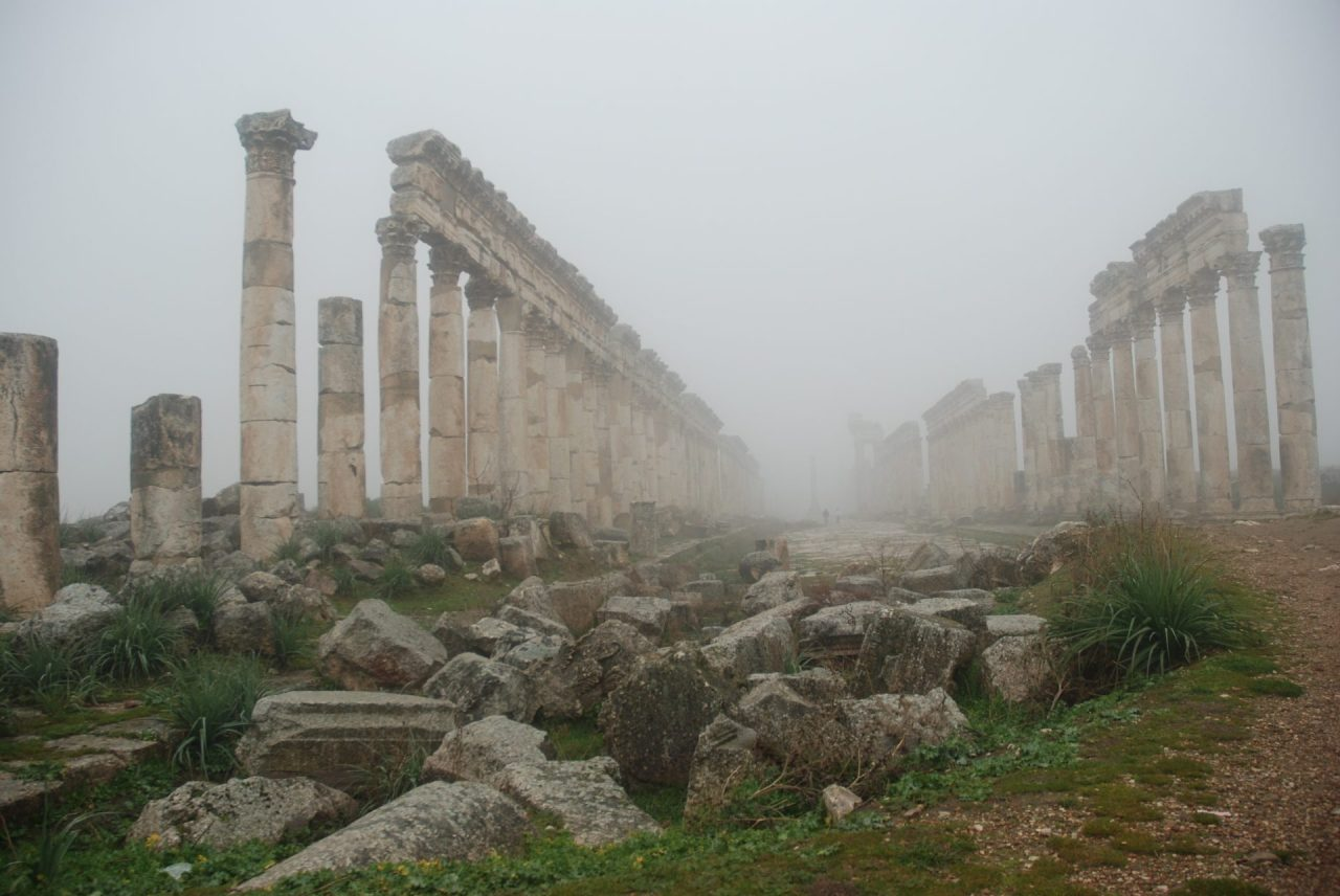 Syrie-Apamé-brume