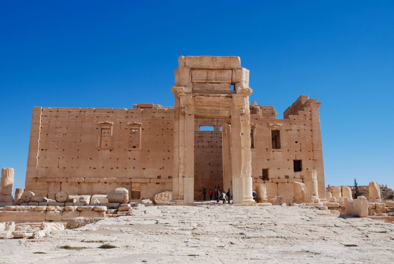 Syrie-Palmyre-Temple-Bel