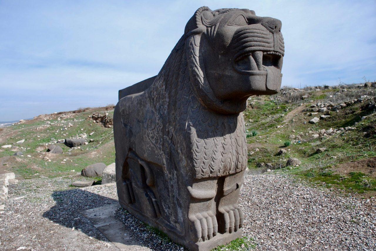 Syrie-temple-Aï Dara - Ishtar-lion