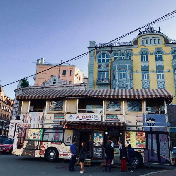 Sara Giraudeau - Mon bus café à Kiev